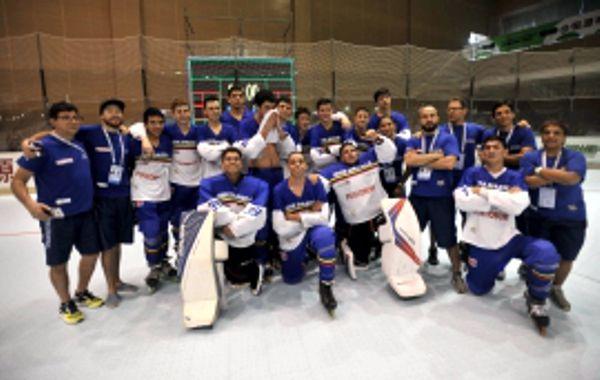 Seleección Hockey en Línea Junior entre los mejores del mundo