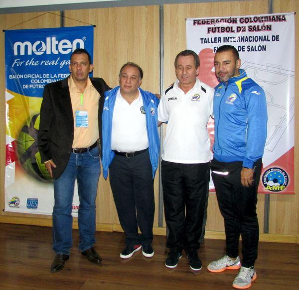 Seminario Internal Futbol Salon expositores
