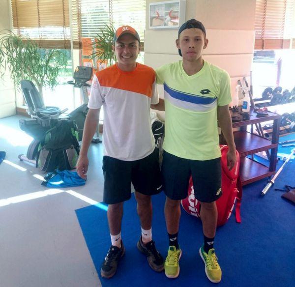 Sergio Hernández y Nikita Mashtakov