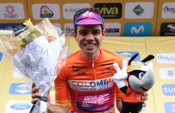 Sergio Higuita ganó 4 etapa tour