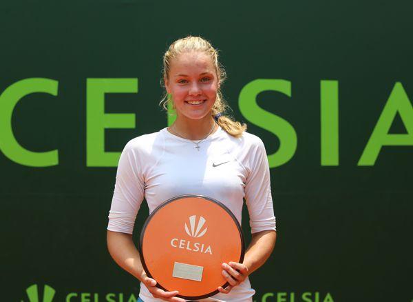 Sofya Zhuk Campeona Celsia Cali