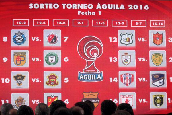 Sorteo Aguila 2016 I