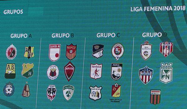 Sorteo Liga Femenina 2018