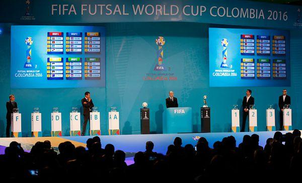 Sorteo Mundial Futsal