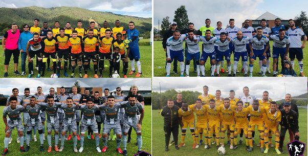 REAL SQUADRA FC, MUNDO FARMA FC, CATERPILLAR MOTOR Y NACIONAL DE ELÉCTRICOS JUGARÁN LAS SEMIFINALES DE LA I PRECOPA ÉLITE DE BOGOTÁL