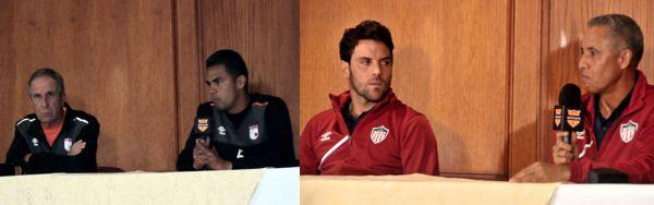 Sta Fe vs Junior rueda de prensa 2