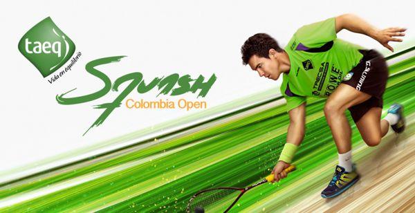 Taeq Squash Colombia PSA Open Lanzamiento