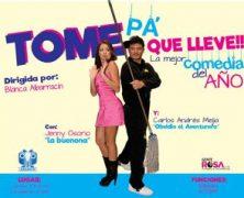 «TOME PA' QUE LLEVE», LOS SÁBADOS, EN LA CASA EN EL AIRE