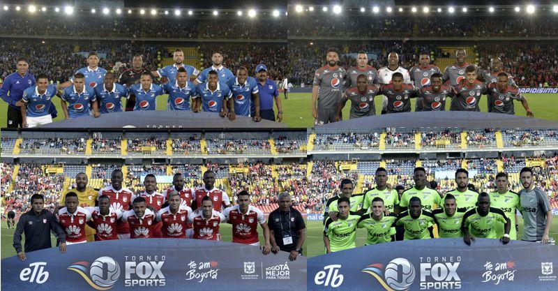 Torneo Fox Sport 1 y 2 fecha