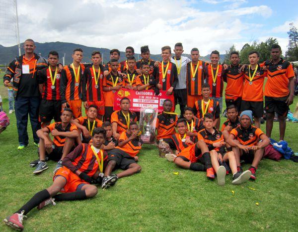 Unión Deportiva de Barranquilla Subcampeón Copa Bogotá