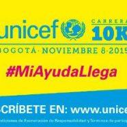 INSCRÍBETE EN LA CARRERA UNICEF10K Y HAZ QUE TU AYUDA LLEGUE A LAS NIÑAS, NIÑOS Y ADOLESCENTES DEL CHOCÓ, LA GUAJIRA, PUTUMAYO, CAUCA Y CÓRDOBA!