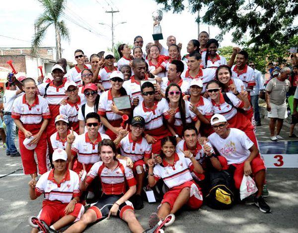 Valle campeón Interligas Patinaje