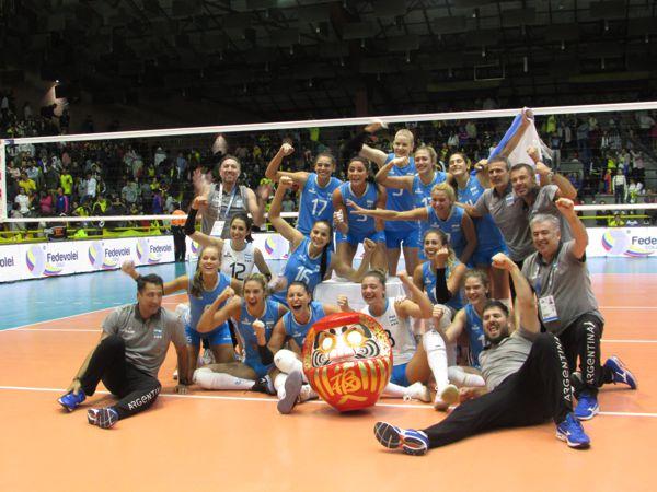 Voleibol Argentina clasificado