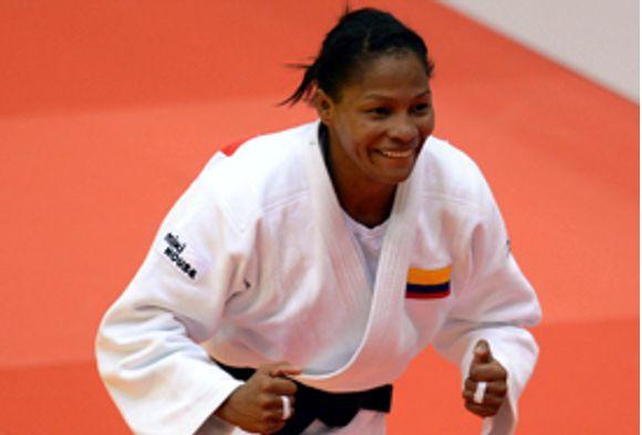 Yuri Alvear oro gran slam de judo