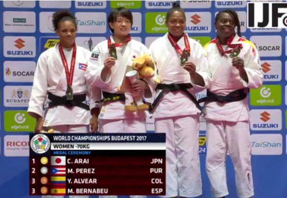Yury Alvear bronce mundial