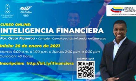 ÓSCAR FIGUEROA DICTARÁ EL CURSO INTELIGENCIA FINANCIERA PARA DEPORTISTAS