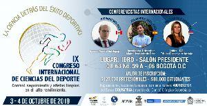 IX CONGRESO INTERNACIONAL DE CIENCIAS DEL DEPORTE