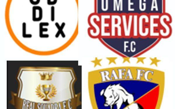 CD DILEX CON REAL SQUADRA FC Y OMEGA SERVICES FC CON RAFA FC. COMANDAN LAS TABLAS DE POSICIONES DE LA COPA DEL PRÍNCIPE, LUEGO DE LA SEGUNDA FECHA