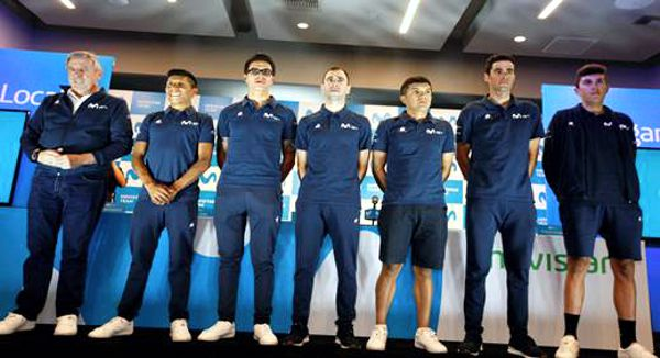 equipo movistar en tour colombia