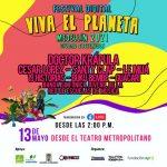 CONOCE EL LINE-UP DEL FESTIVAL VIVA EL PLANETA MEDELLÍN 2021