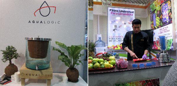 filtro y extractor de fruta