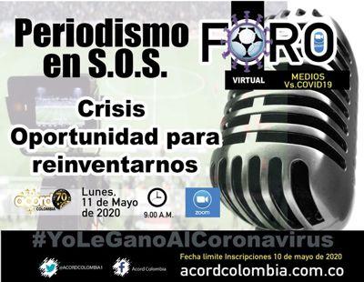 PERIODISMO EN S.O.S.: CRISIS OPORTUNIDAD PARA REINVENTARNOS