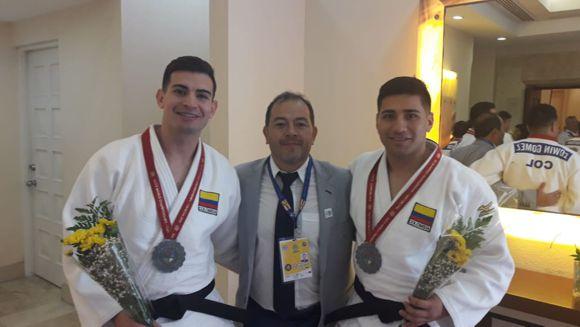 judo 2 medallistas de plata