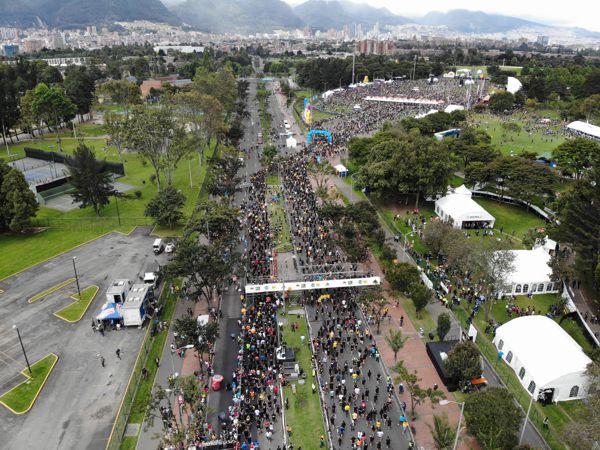 LA Media Maratón de Bogotá SIGUE PRESENTE