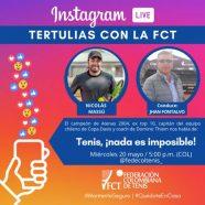 EL CHILENO NICOLÁS MASSÚ EN 'TERTULIAS CON LA FCT'!
