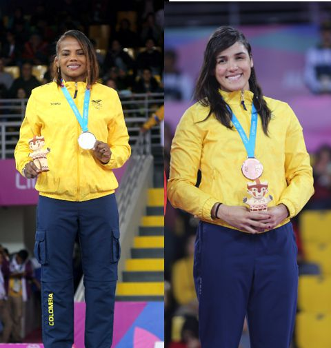 plata y bronce en lucha femenina