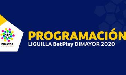 PROGRAMACIÓN DE LA FECHA 2 DE LA LIGILLA BETPLAY DIMAYOR 2020