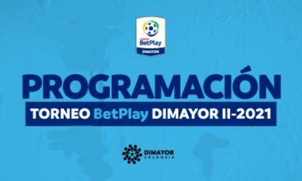 PROGRAMACIÓN DE LA FECHA 3 EN EL TORNEO BETPLAY DIMAYOR II-2021