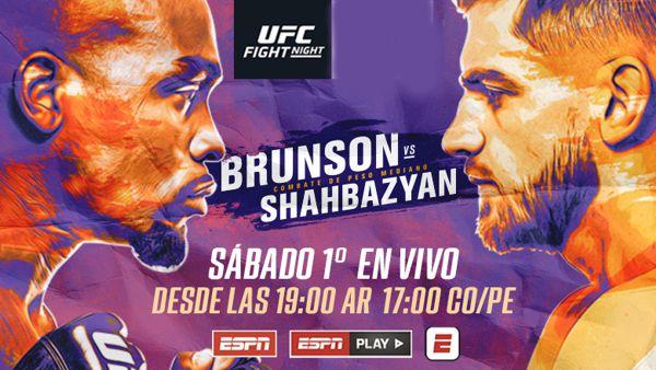 VUELVE UFC DESDE LAS VEGAS EN ESPN